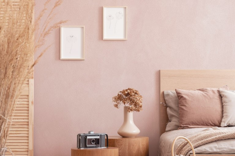 Pitture con effetti decorativi per interni