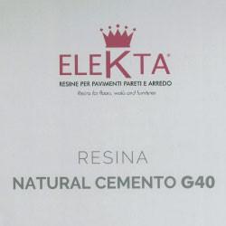 Resine Natural Cemento G40 Elekta