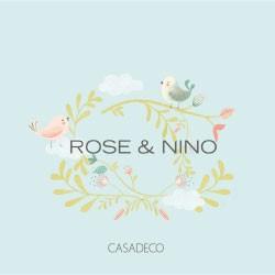 Tappezzerie Casadeco Rose Nino